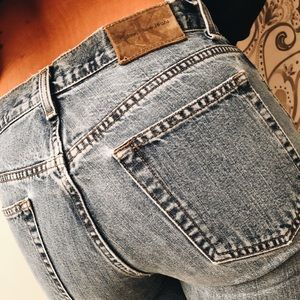 Vintage Calvin Klein light wash jeans size 2